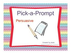 Dear teachers,This is one of the three Pick-a-Prompt activity packs. Let me share with you how to implement this activity pack into your classr...