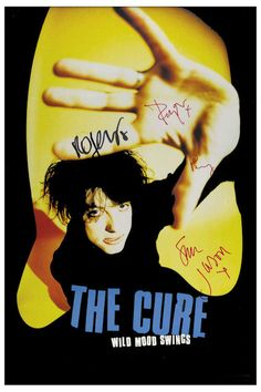 """The Cure Wild Mood Swings Promotional Poster 1996  • 100% Mint unused condition • Well discounted price + we combine shipping • Click on image for awesome view • Poster is 12"""" x 18"""" • Semi-Gloss Finish • Great Music Collectible - superb copy of original • Usually ships within 72 hours or less with > tracking. • Satisfaction guaranteed or your money back. Sportsworldwest.com"""