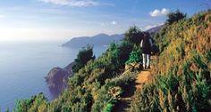 Italie  sentiers de randonnée des Cinque Terre -