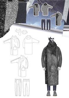 Fashion Sketchbook - fashion illustration, flats & fabrics; fashion portfolio // Georgia Mottershead