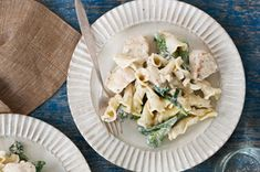 Creamy Chicken Pasta with Broccoli Rabe recipe