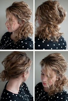Great interview & Curly hair tips: A braided hairband from Christina Butcher's book