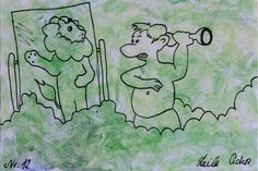 "Artmoney - unique piece of art doubling as a gift card ""Green money 12"""