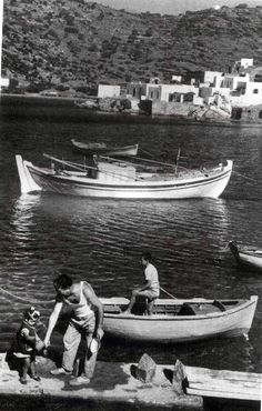 Sifnos island in the 1950's