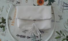 Purse 3 in1-white-red-blue:) Red And Blue, Purses, Bags, Fashion, Handbags, Handbags, Moda, Red And Teal, La Mode