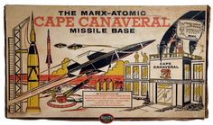 """Marx """"Cape Canaveral Missile Base"""" Playset, 1959"""