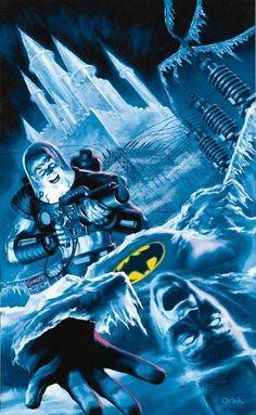 Mr Freeze by Glen Orbik.