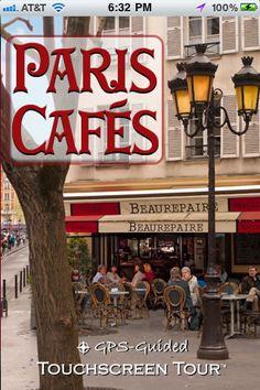 Paris cafes from Francophilia Gazette