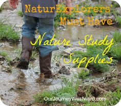 Top 10 nature study supplies to have on hand by @Cindy West (Our Journey Westward)