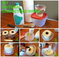 Pampered Daughter Thrifty Wife: DIY Natural Disinfecting Wipes