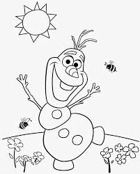 Image result for easy frozen colouring pages