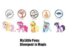 My Little Faction: Divergence is Magic by Marifan103.deviantart.com on @deviantART