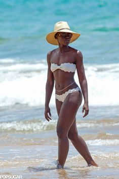 Exclusive: Lupita Nyong'o Shows Off Her Bikini Body in Maui!