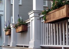 Would love to do flower boxes across the front porch!