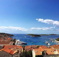 Goodbye Hvar! See you next time!    #hvar #island #croatia #lovecroatia #bluesky #sun #sky #oldcity #boats #sailing #ship #hrvatska #beautifulview #view #vacation #august #summer #lifestyle #travel #instatravel #holiday #love #blog #inspiration #nature #yacht #enjoy #ljeto #summerbreeze #bay