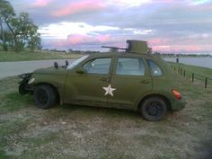 Post pictures of cars with terrible mods Our Ethos (written Feb Shitty does not mean bad - Feel free to post shitty mods that are. Pt Cruiser Accessories, Chrysler Pt Cruiser, Car Mods, Ptsd, Plymouth, Monster Trucks, Army, Vehicles, Cruises