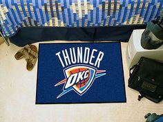 The Oklahoma City Thunder NBA Starter Mat