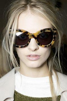 Karen Walker 'Northern Lights' sunglasses in crazy tortoise