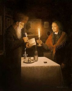 Havdalah Ceremony -bidding farewell to Shabbat