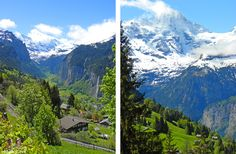 """""""Great hikes and stunning views in Lauterbrunnen and the Berner Oberland, #Switzerland"""" by @bbqboyandspanky"""