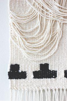 hello hydrangea: Crescent Draped-Inspired Wall Hanging