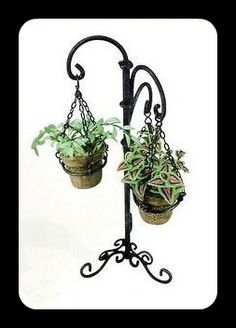 how to: plant stand (In Spanish, with good step-by-step photos)