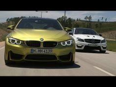 Performance coupes go head-to-head: BMW M4 vs. Mercedes-Benz C63 AMG