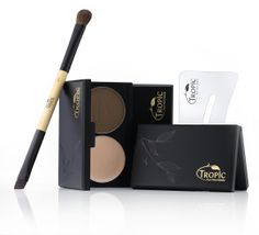 Our Brow Perfection Kit - £27 saving of £10 = Comes in 3 shades - Taupe for Redheads and Blondes; Ochre for Dark Blondes  Light Brunettes; Bistre for Dark Brunettes  Black Hair;