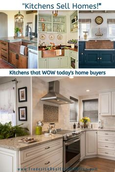 The kitchen is the hardest working room in the home. It's also the most important room to today's home buyers. Check out the latest trends to ensure your home has the wow factor buyers are looking for: Latest Kitchen Trends, Latest Trends, Copper Farmhouse Sinks, Home Selling Tips, Best Kitchen Designs, Home Buying, Cool Kitchens, Kitchen Decor, Kitchen Ideas