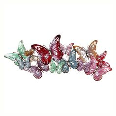 Spring Pastels Butterfly Wall Art
