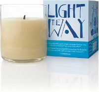 The amazing Earth Month candle.  Light The Way Earth Month Candle- $12.00  This limited-edition soy wax candle features a new aroma featuring organic French lavender and will raise $1.34 M (US) for clean water projects around the globe*.