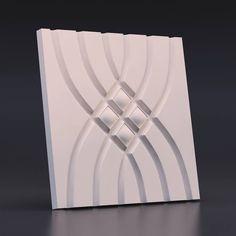 На изображении представлена - 500*500. Mold for 3D panels made from polyurethane