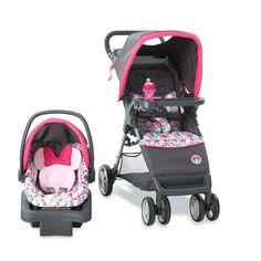 Harmonie Baby Kinderwagen Kinderwagen Kindersitz Disney Minnie Mouse  Bowtiful Wiege Travel System Baby Läuft #Kinderwagen