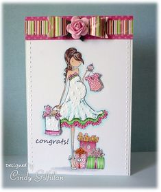 Baby Shower Shopping by frenziedstamper - Cards and Paper Crafts at Splitcoaststampers