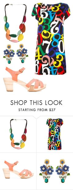"""""""Color by Number"""" by dprice1515 ❤ liked on Polyvore featuring One Button, Cotélac and Dolce&Gabbana"""