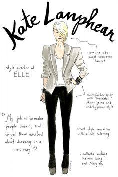 Fashion editor Kate Lanphear Illustrations by Joana Avillez Anna Wintour, Kate Lanphear, Fashion Editor, Fashion Tips, Icon Fashion, Lifestyle Fashion, Fashion Beauty, Fashion Trends, Diana Vreeland