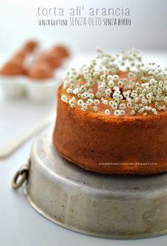 PANEDOLCEALCIOCCOLATO: Torta all' arancia Gluten free senza olio senza burro senza latte….una Ciambella light diversamente buona!