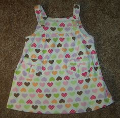 Cute jumper for babies with hearts. On Ebay $9.99