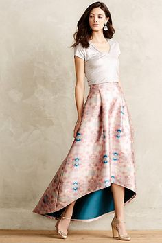 Snowberry Ball Skirt - anthropologie.com. I would never wear this outfit to a ball-too casual-but I love, love, love this skirt!