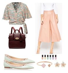 """""""Relax"""" by busraabusalih on Polyvore featuring ASOS, Valentino, Mulberry, Mixit, Michael Kors, Deborah Lippmann, Spring, Flowers and pastel"""
