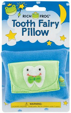 Rich Frog Tooth Fairy Pillow | The Animal Kingdom