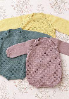 Multiflora baby set pattern by Anne B Hanssen Knitting For Kids, Baby Knitting Patterns, Baby Patterns, Free Knitting, Stitch Patterns, Baby Outfits, Kids Outfits, Crochet Baby, Knit Crochet