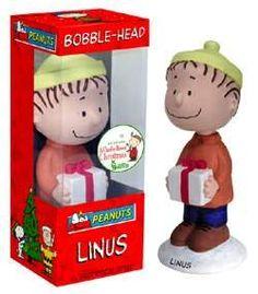 7″ Peanuts Linus Christmas Wacky Wobbler Bobblehead http://popvinyl.net #funko #funkopop #popvinyls