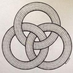 #geometry #symmetry #torso #handmade #disk #circle #compass #mathart #artorart #art #Escher #progression #evolution #structure #rainbow #torus