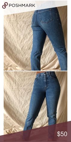 3e39c1f18c8c Shop Women s Vintage Blue size 26 Straight Leg at a discounted price at  Poshmark.