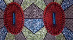African Real Dutch Wax Print Fabric 100 Cotton Sold by kitenge2012