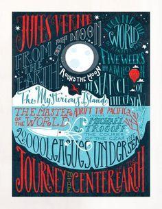 Jules Verne's work...🌷❄