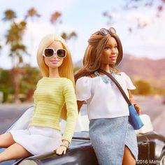 39.2 тыс. отметок «Нравится», 238 комментариев — Barbie® (@barbiestyle) в Instagram: «Good morning, Palm Springs! We have arrived. ✔️ #coachella #barbie #barbiestyle»