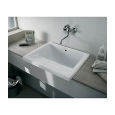 Villeroy & Boch Utility Laundry Sink Large 645mm x 750mm Ceramic Apron Fronted Kitchen Laundry Sink CLL