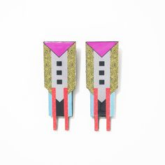 Wunmi Earrings by Bezem Kassan